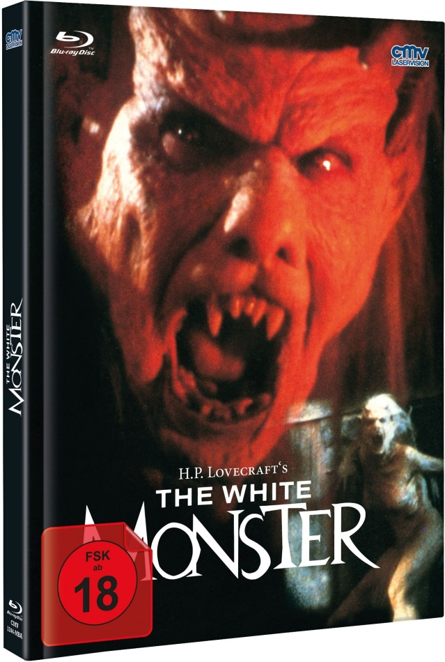 The White Monster (1988) (Cover A, Limited Edition, Mediabook, Blu-ray + DVD)