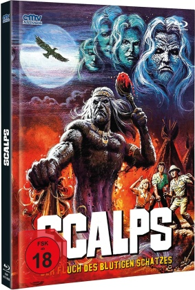 Scalps (1983) (Cover A, Limited Edition, Mediabook, Blu-ray + DVD)