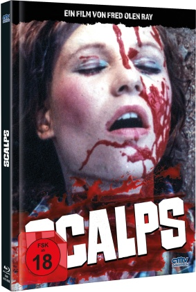 Scalps (1983) (Cover B, Limited Edition, Mediabook, Blu-ray + DVD)