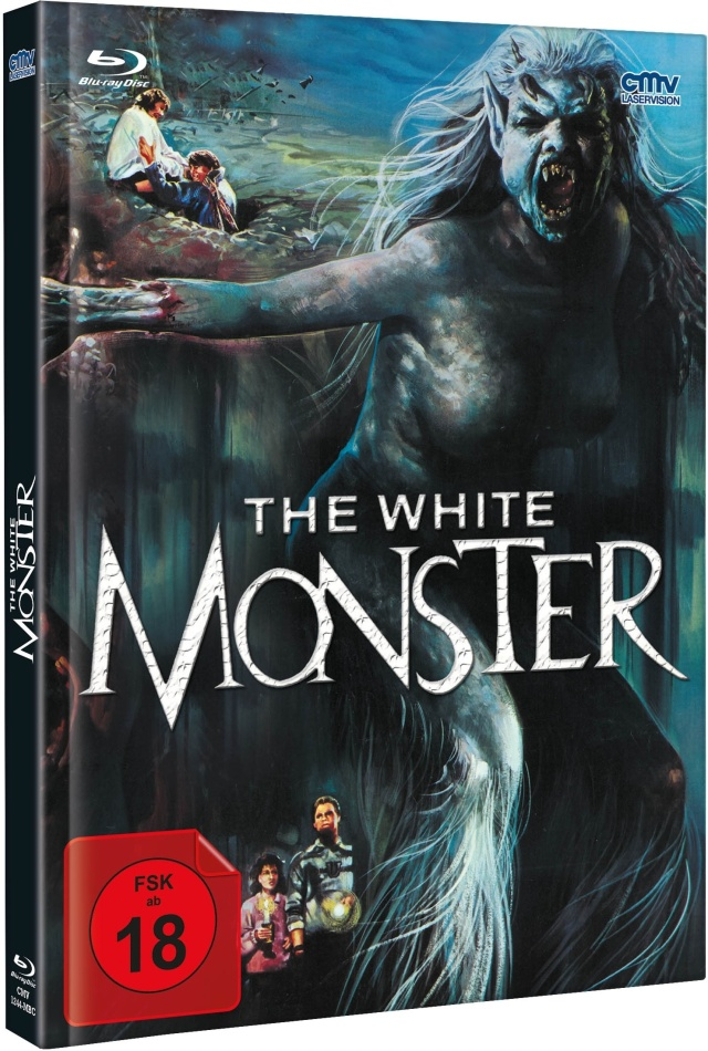 The White Monster (1988) (Cover C, Limited Edition, Mediabook, Blu-ray + DVD)