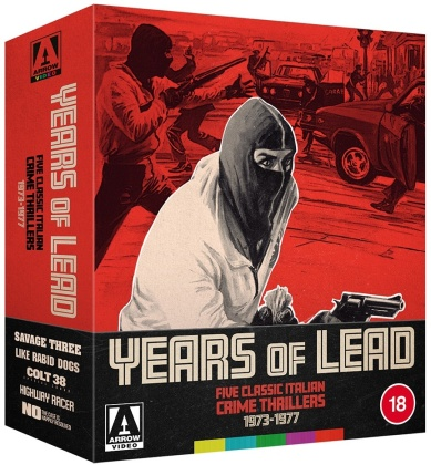 Years Of Lead - Five Classic Italian Crime Thrillers (1973-1977) (3 Blu-rays)