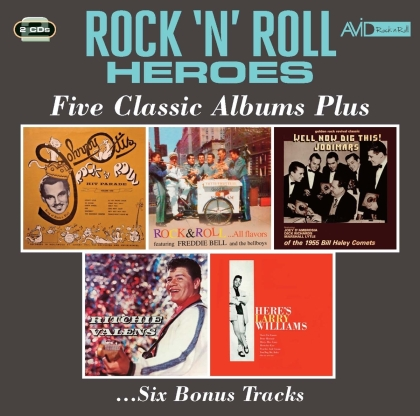 Rock & Roll Hit Parade / Rock & Roll - All Flavors (2 CDs)