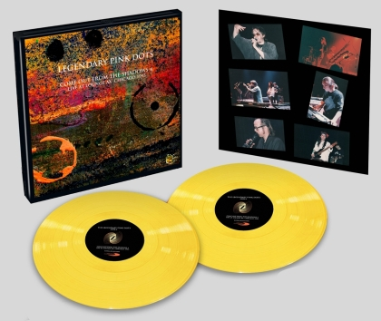 Legendary Pink Dots - Live At Lounge Ax Chicago 1993 (Deluxe Edition, Limited Edition, Yellow Vinyl, LP)