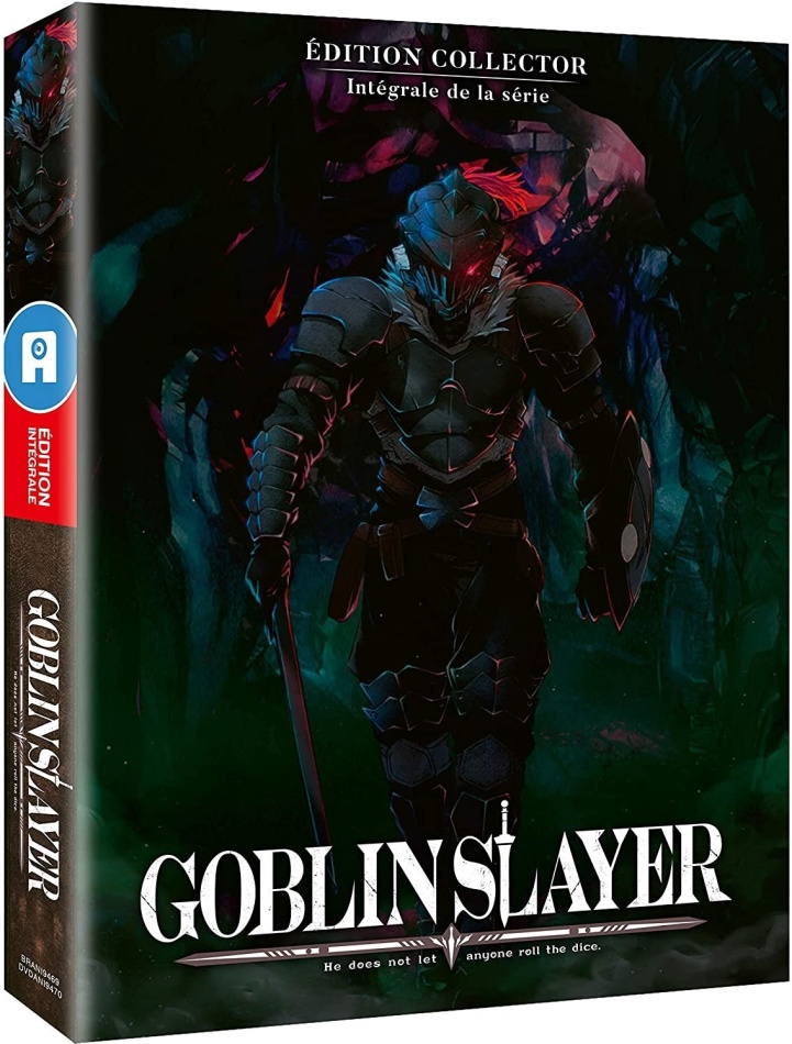 Goblin Slayer - Intégrale de la série (Version Non-Censurée, Édition Collector, Mediabook, 2 Blu-ray)