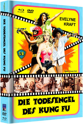 Die Todesengel des Kung Fu (1977) (Cover A, Limited Edition, Mediabook, Blu-ray + DVD)