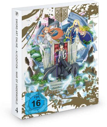 Sword Art Online - Alicization - War of Underworld - Vol. 4 (2 DVDs)