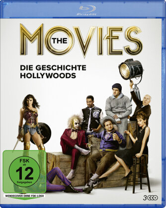 The Movies – Die Geschichte Hollywoods (3 Blu-rays)