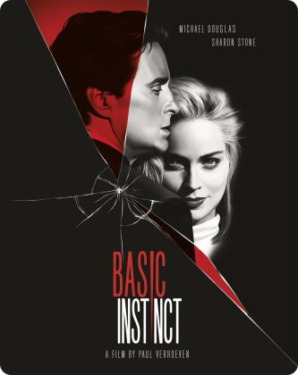 Basic Instinct (1992) (Limited Edition, Steelbook, 4K Ultra HD + Blu-ray)