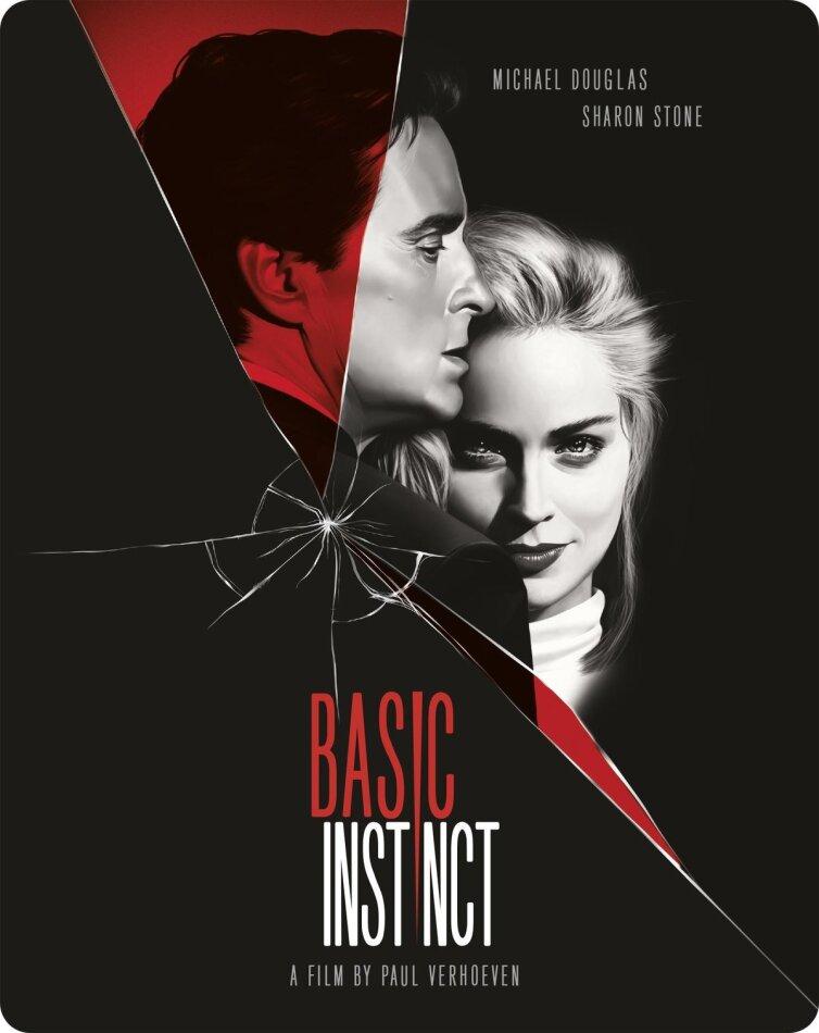 Basic Instinct (1992) (Limited Edition, Steelbook, 4K Ultra HD + Blu-ray)