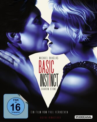 Basic Instinct (1992) (Digital Remastered, Special Edition, 2 Blu-rays)