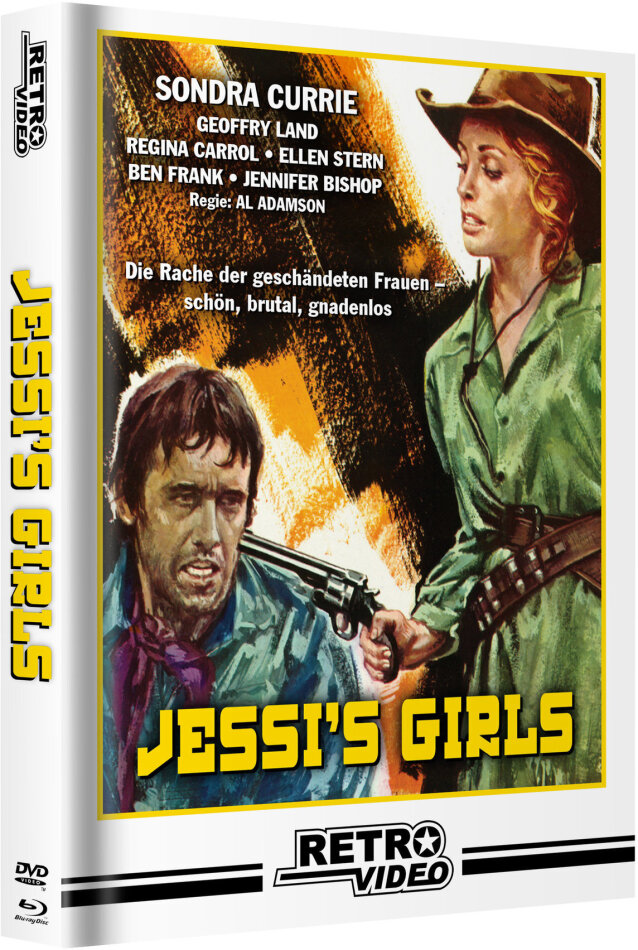 Jessi's Girls (1975) (Cover C, Limited Edition, Mediabook, Blu-ray + DVD)
