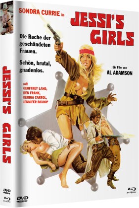 Jessi's Girls (1975) (Cover A, Limited Edition, Mediabook, Blu-ray + DVD)