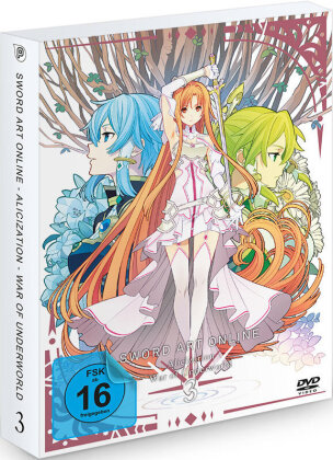 Sword Art Online - Alicization - War of Underworld - Vol. 3 (2 DVDs)