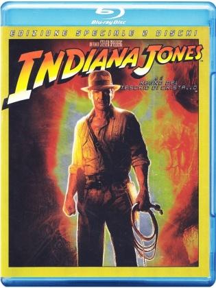 Indiana Jones e il Regno del Teschio di Cristallo (2008) (Edizione Speciale, 2 Blu-ray)
