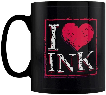 I Love Ink - Tattoo Mug