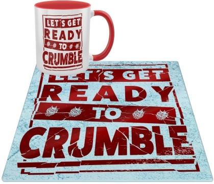 Let's Get Ready to Crumble - Mug & Chopping Board Set