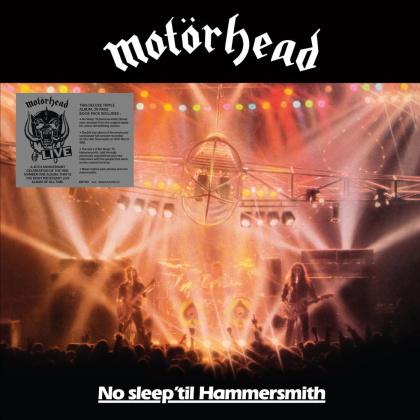 Motörhead - No Sleep 'Til Hammersmith (2021 Reissue, BMG/Sanctuary, Black Vinyl, 40th Anniversary Edition, 3 LPs)