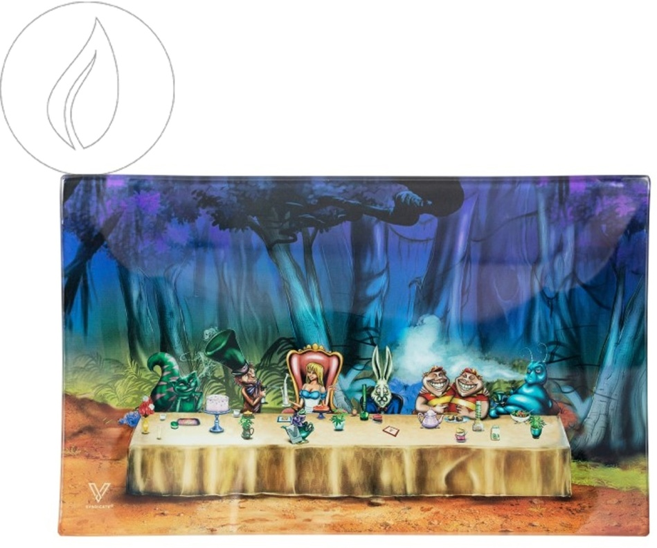 Kräuterschale aus Glas - Alice Tea Party 160x260mm