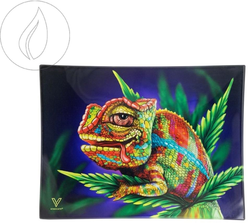 Kräuterschale aus Glas - Cloud9 Chameleon 125x165mm