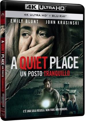 A Quiet Place - Un posto tranquillo (2018) (Riedizione, 4K Ultra HD + Blu-ray)