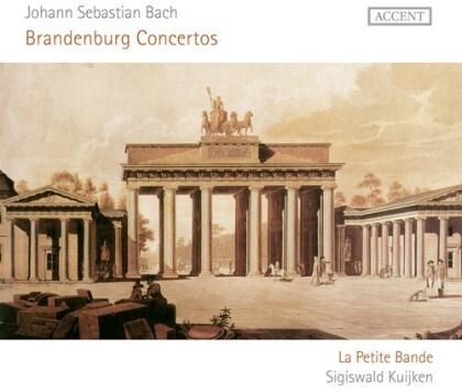 Sigiswald Kuijken, La Petite Bande & Johann Sebastian Bach (1685-1750) - Brandenburg Concertos (2 CDs)