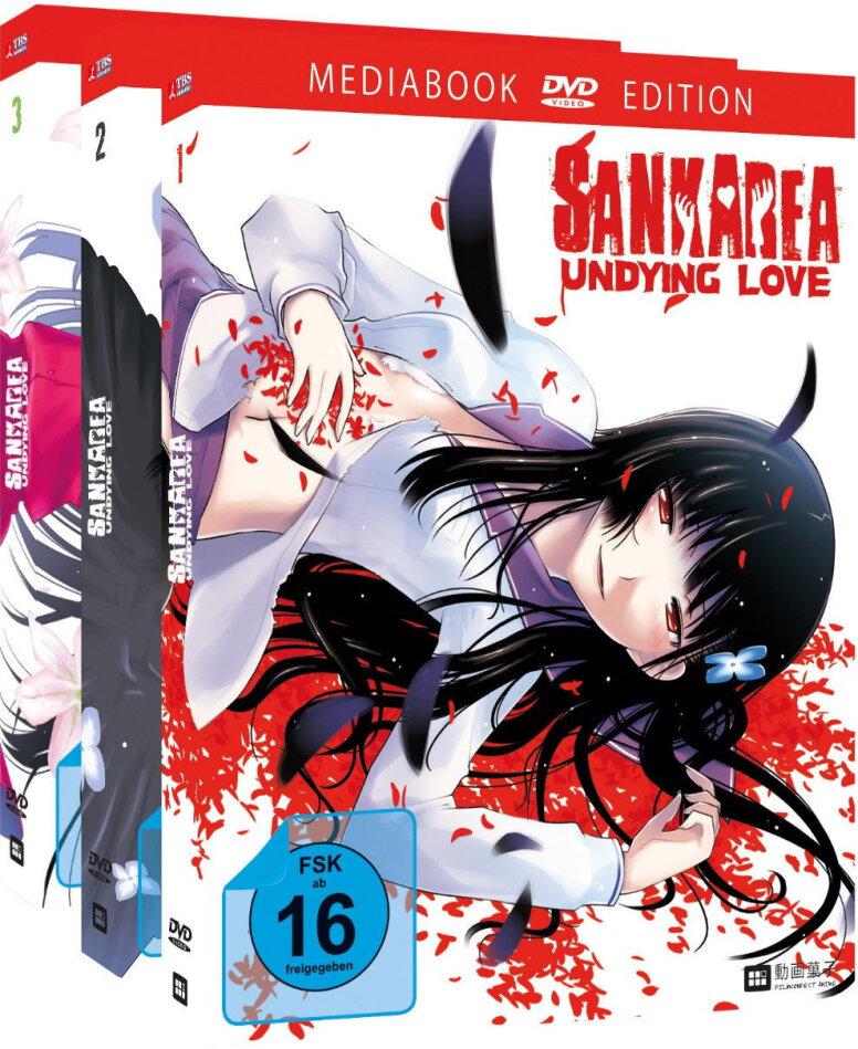 Sankarea - Undying Love - Vol. 1-3 (Gesamtausgabe, Bundle, Limited Edition, 3 DVDs)