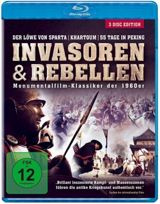 Invasoren & Rebellen - Monumentalfilm-Klassiker der 1960er (3 Blu-rays)