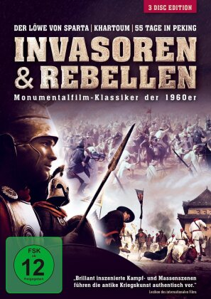 Invasoren & Rebellen - Monumentalfilm-Klassiker der 1960er (3 DVDs)