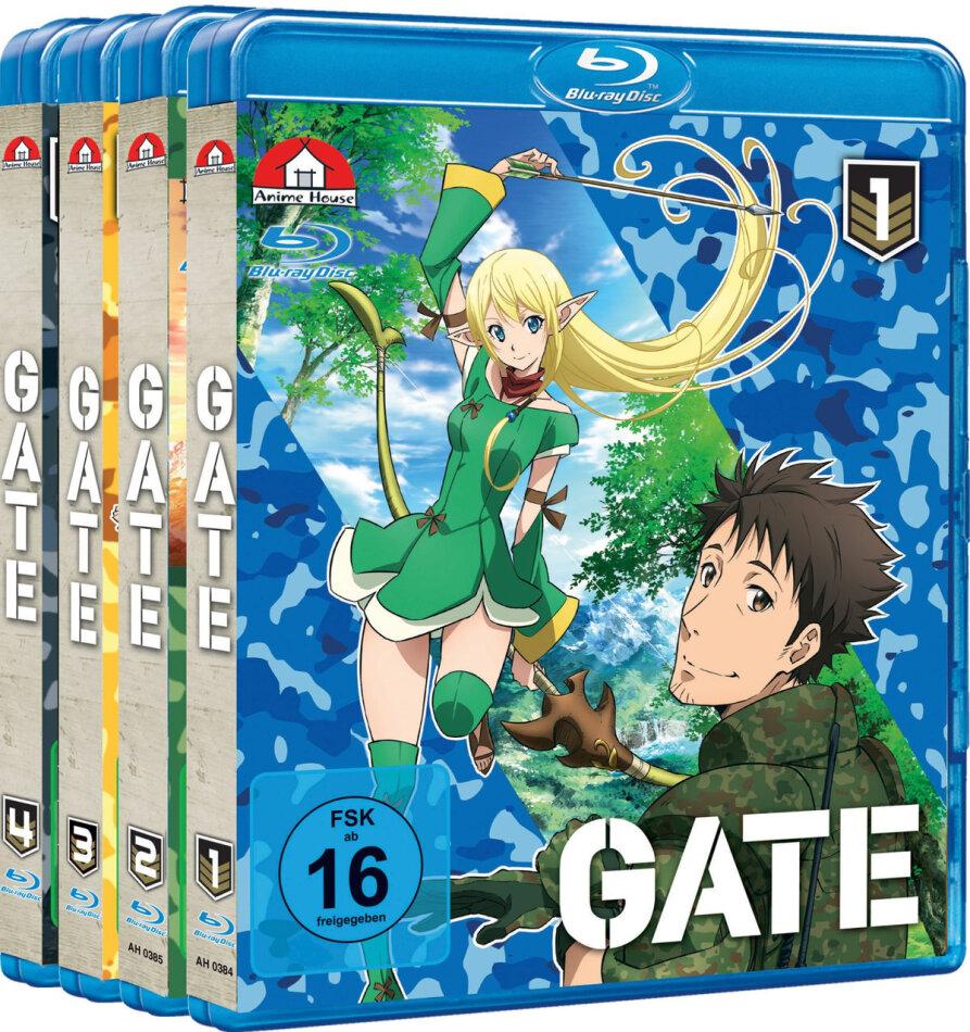 Gate - Staffel 1 (Gesamtausgabe, Bundle, 4 Blu-rays)