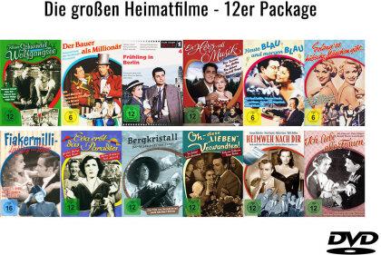 Die grossen Heimatfilme - 12er Package (12 DVDs)