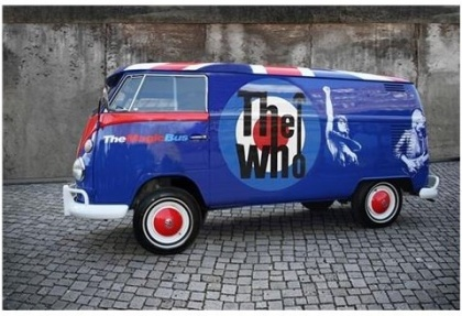 The Who - The Who Magic Bus VW T1 Model Gift Set