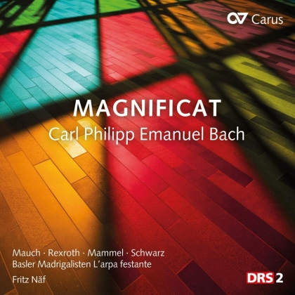 Basler Madrigalisten, L'Arpa Festante, Carl Philipp Emanuel Bach (1714-1788) & Fritz Näf - Magnificat