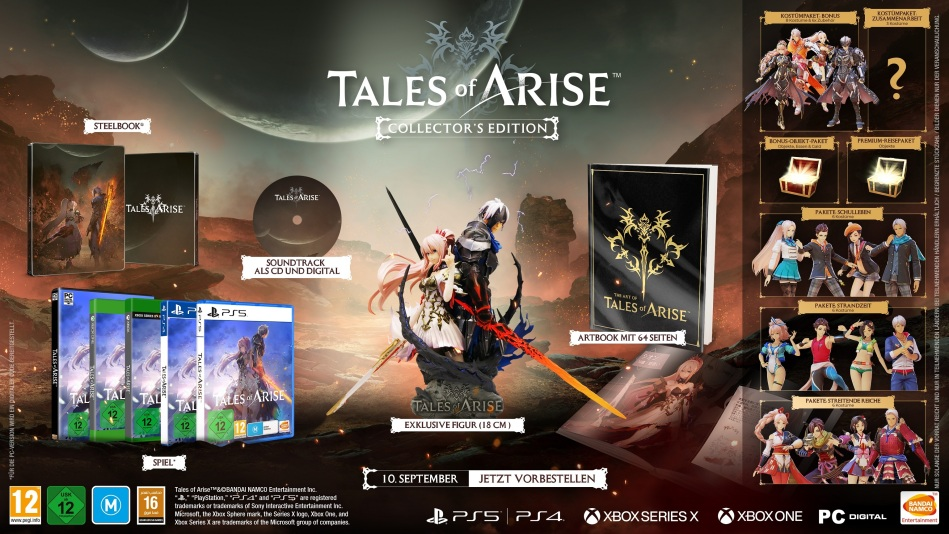 Tales of Arise (Édition Collector)