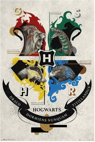 Harry Potter: Animal Crest - Maxi Poster