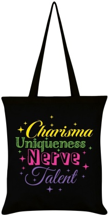 Charisma Uniqueness Nerve & Talent - Tote Bag