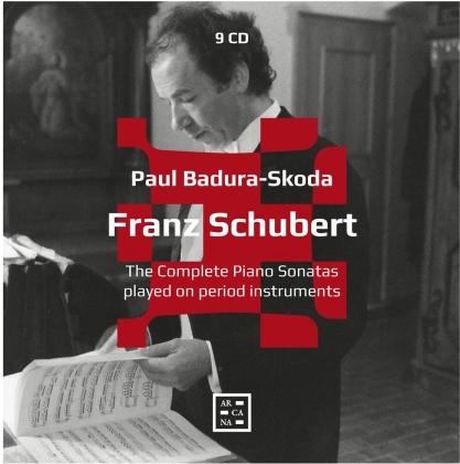 Franz Schubert (1797-1828) & Paul Badura-Skoda - Complete Piano Sonatas (2021 Reissue, 9 CDs)