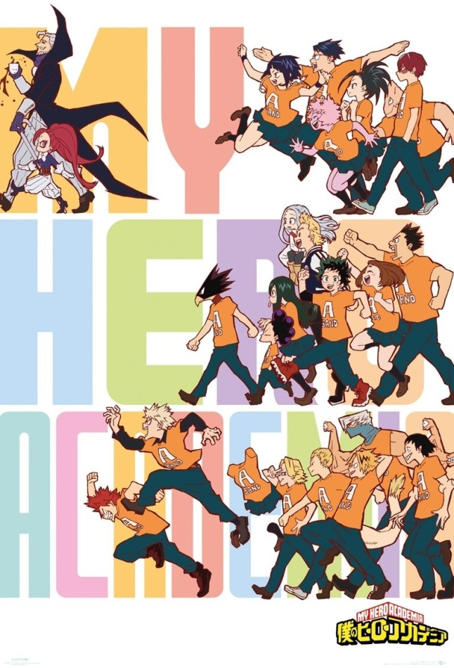 My Hero Academia: Season 4 Key Art - Poster
