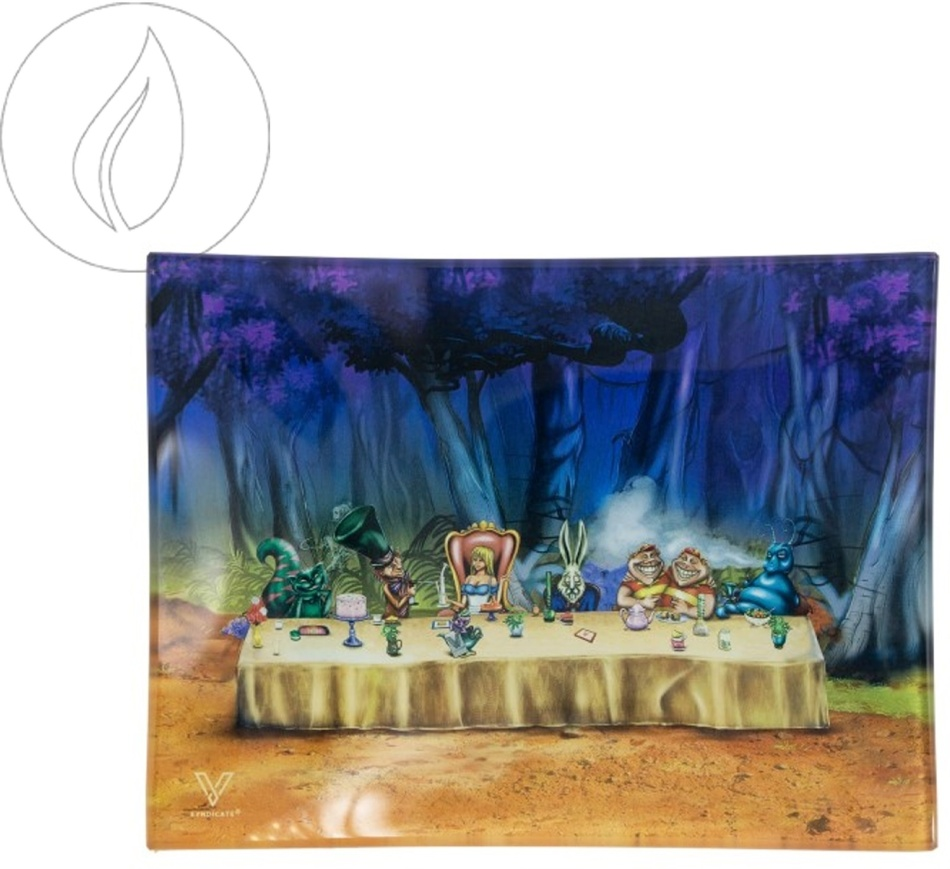 Kräuterschale aus Glas - Alice Tea Party 125x165mm