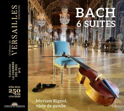 Johann Sebastian Bach (1685-1750) & Myriam Rignol - 6 Suites (2 CDs)
