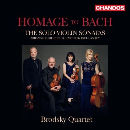 Brodsky Quartet & Johann Sebastian Bach (1685-1750) - Homage To Bach