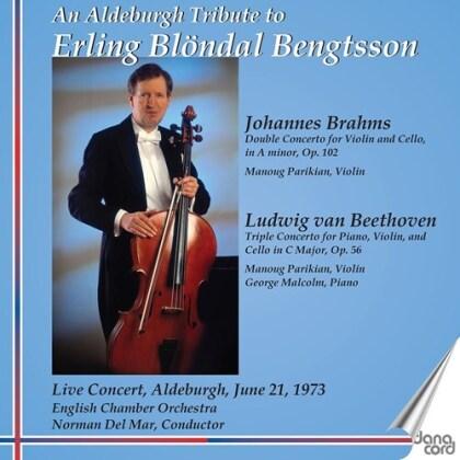 Johannes Brahms (1833-1897), Ludwig van Beethoven (1770-1827), Norman Del Mar, Erling Blöndal Bengtsson & English Chamber Orchestra - Double Concerto, Triple Concerto