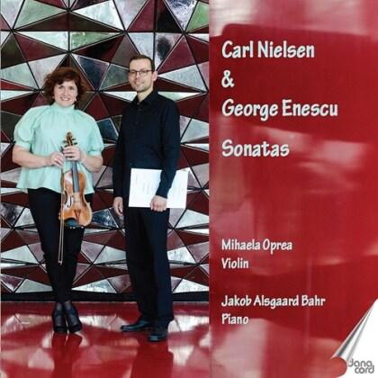 Carl August Nielsen (1865-1931), Mihaela Oprea & Jakob Alsgaard Bahr - Sonatas
