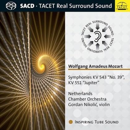 Netherlands Chamber Orchestra, Wolfgang Amadeus Mozart (1756-1791) & Gordan Nikolic - Symphony KV543 No39, KV 551 Jupiter (Hybrid SACD)