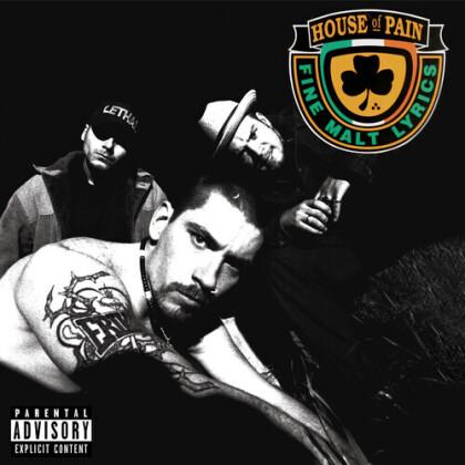 House Of Pain - --- (Fine Malt Lyrics) (2021 Reissue, Tommy Boy Music, Orange Green Vinyl, LP)