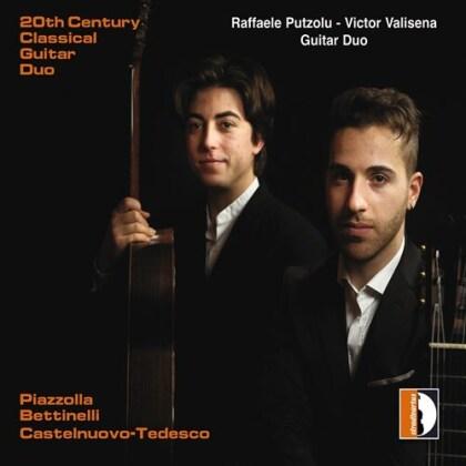 Raffaele Putzolu, Victor Valisena, Astor Piazzolla (1921-1992), Bruno Bettinelli (1913-2004) & Mario Castelnuovo-Tedesco (1895-1968) - 20Th Century Classical Guitar