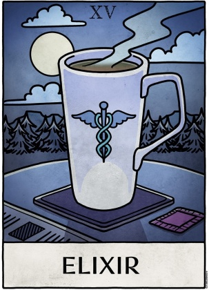 Deadly Tarot Life: Elixir - Mini Poster