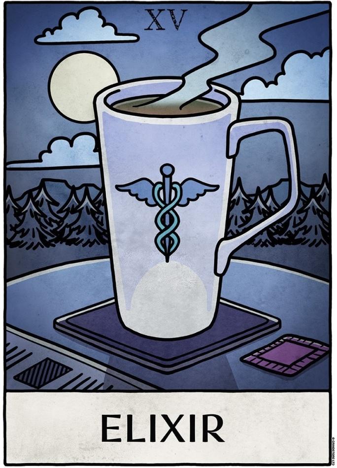 Deadly Tarot Life: Elixir - Mini Poster