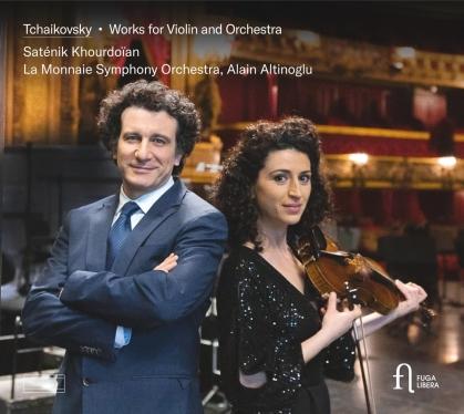 Peter Iljitsch Tschaikowsky (1840-1893), Alain Altinoglu, Saténik Khourdoian & La Monnaie Symhony Orchestra - Works For Violin & Orchestra