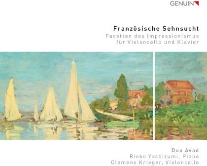 Duo Avad - Französische Sehnsucht - Facetten des Impressionismus für Cello und Klavier