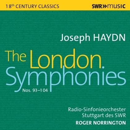 Sir Roger Norrington & Radio-Sinfonieorchester Stuttgart des SWR - London Symphonies (4 CDs)
